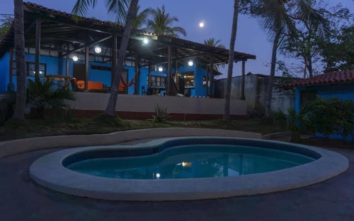 Casa Garrobo, relaxing beach resort