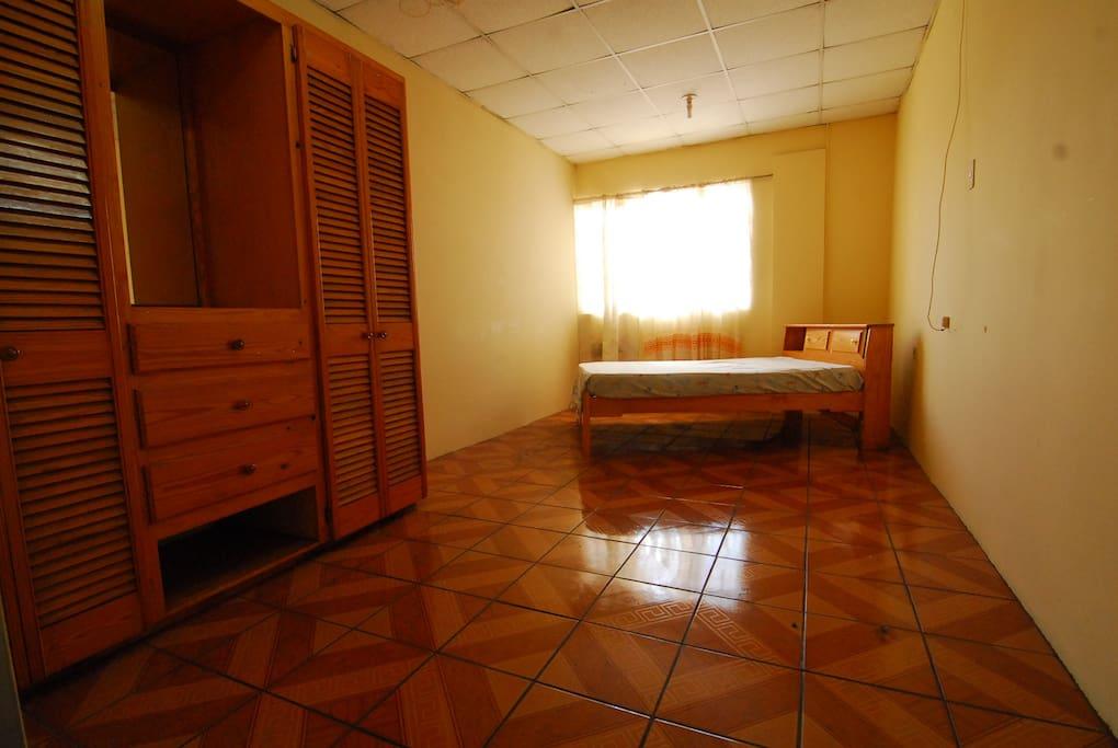 spacious bedrooms with closet + wardrobe