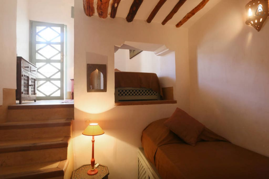 Petite Chambre Duplex avec lits simples séparés sur 2 niveaux