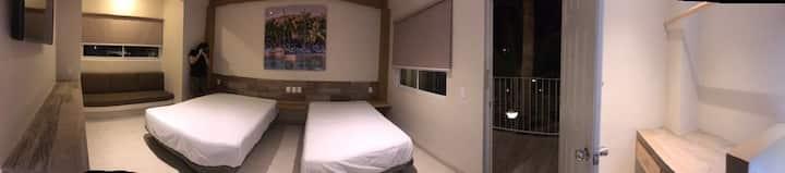 Habitaciones comfort con alberca incluida
