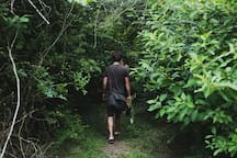 The trails at Blackwood seem endless.