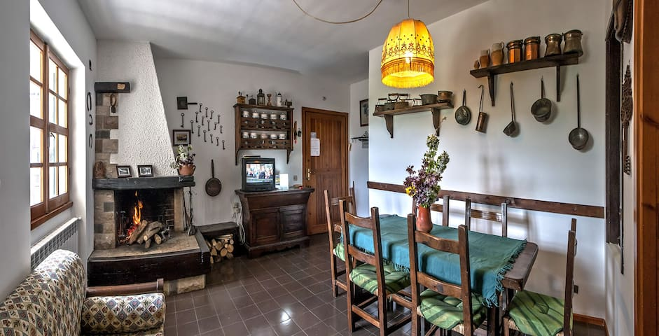 Elisa's house - Rivisondoli - Appartement