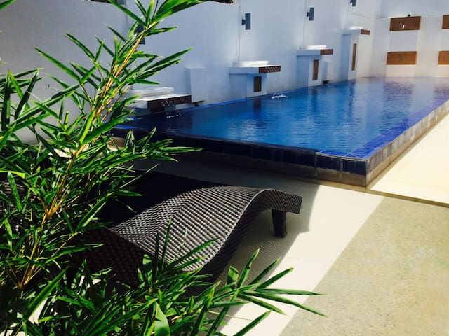 Boracay Glamping Tent - 3 AC Rooms with POOL