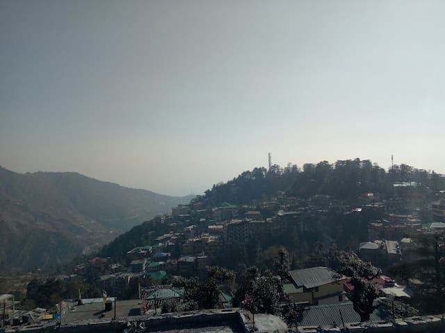 Mcleodganj beauty view room