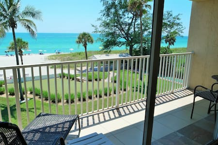 Best views of the beach from your balcony