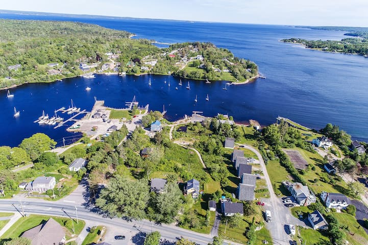 Ocean front property on Hubbard's Cove