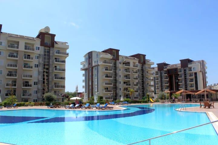 NL, 2 B/R Duplex Orion City Wissam - Alanya - Departamento