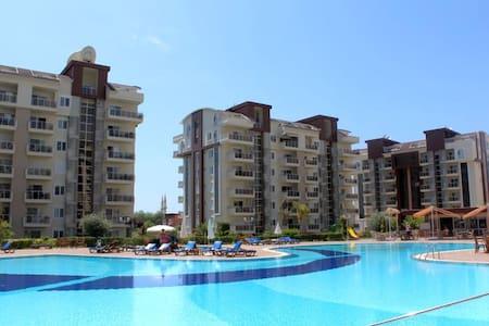 NL, 2 B/R Duplex Orion City Wissam - Alanya - Wohnung