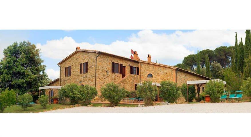 Country House Poggio Cornetto Apartment 70 mq - Bibbona - Leilighet