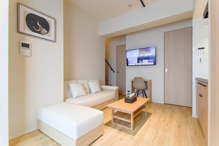 Newly built, VACATION INN KAMATA I, maisonette B