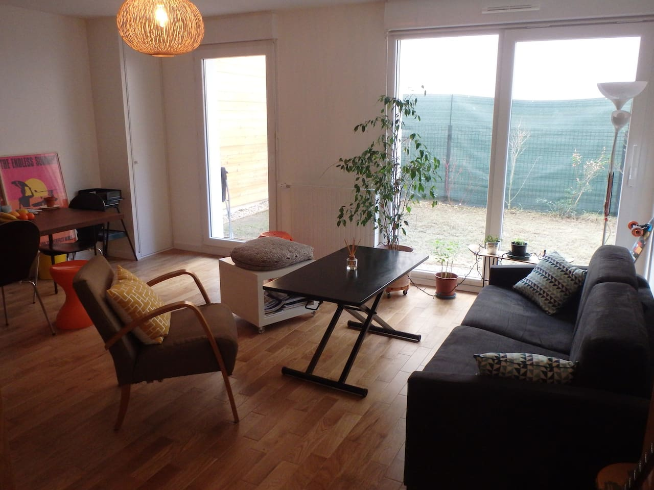 Appartement calme avec jardin / Quiet appartment with garden