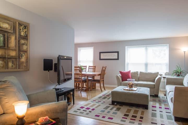 Beautiful Safe 2 Bedroom Apartment