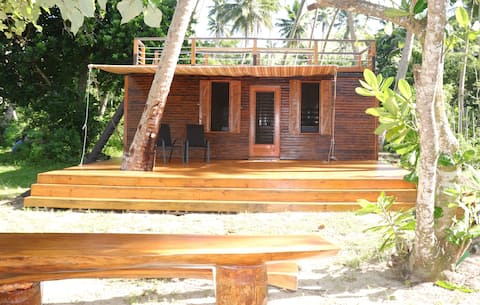 Go Native Fiji Beach House--on the beach