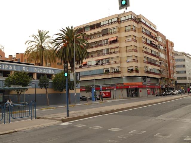 Apartamento confortable y coqueto - Alacant - Wohnung