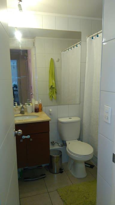 baño en suite con tina