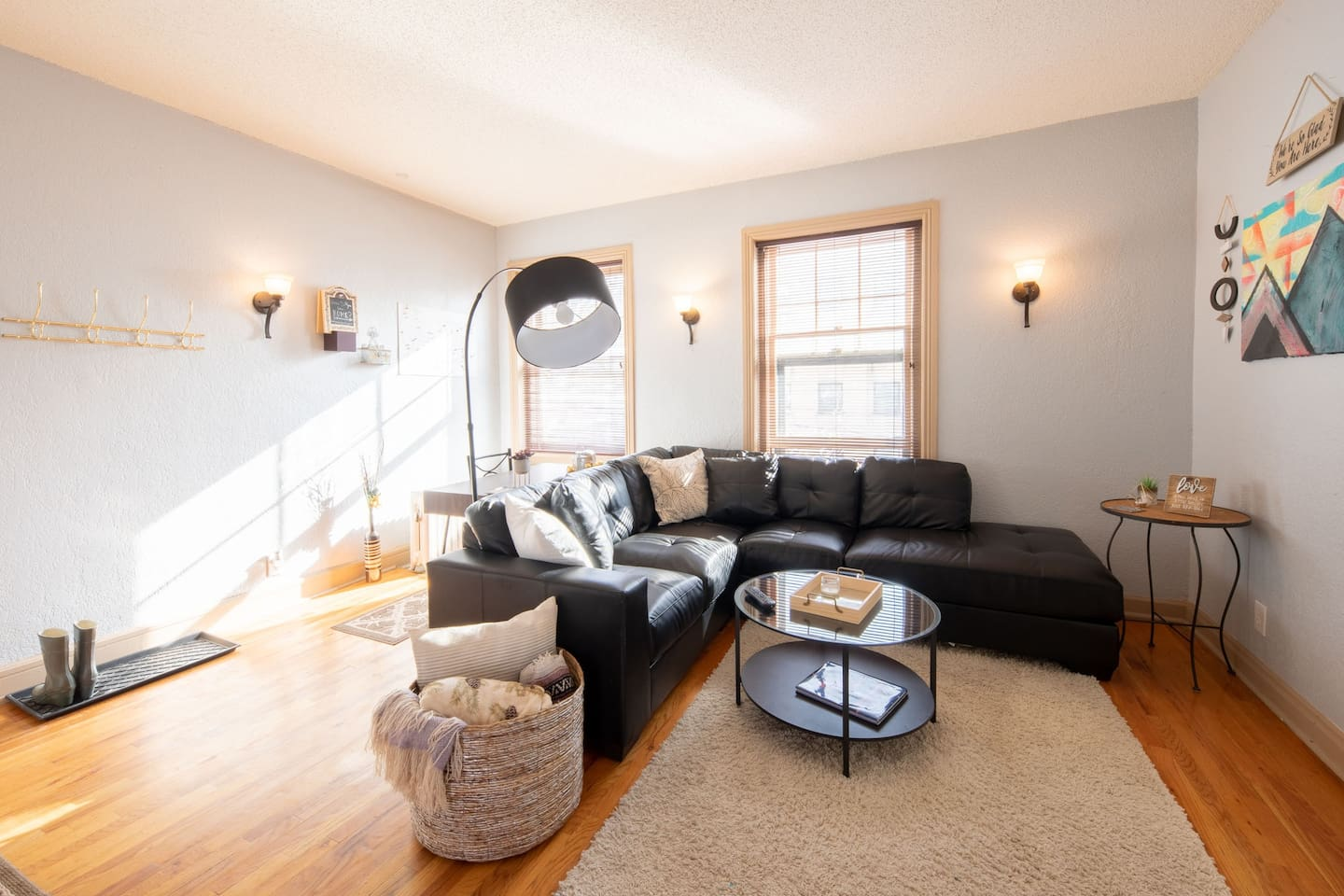 Feel right at home in our open and cozy Capitol Hill condo.