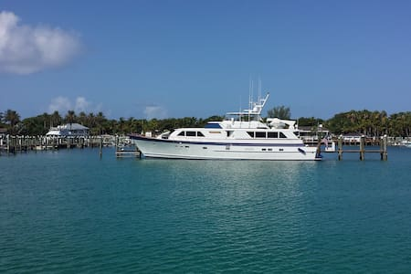Motor Yacht Fairskies-Stunning water views - Nassau - Barca