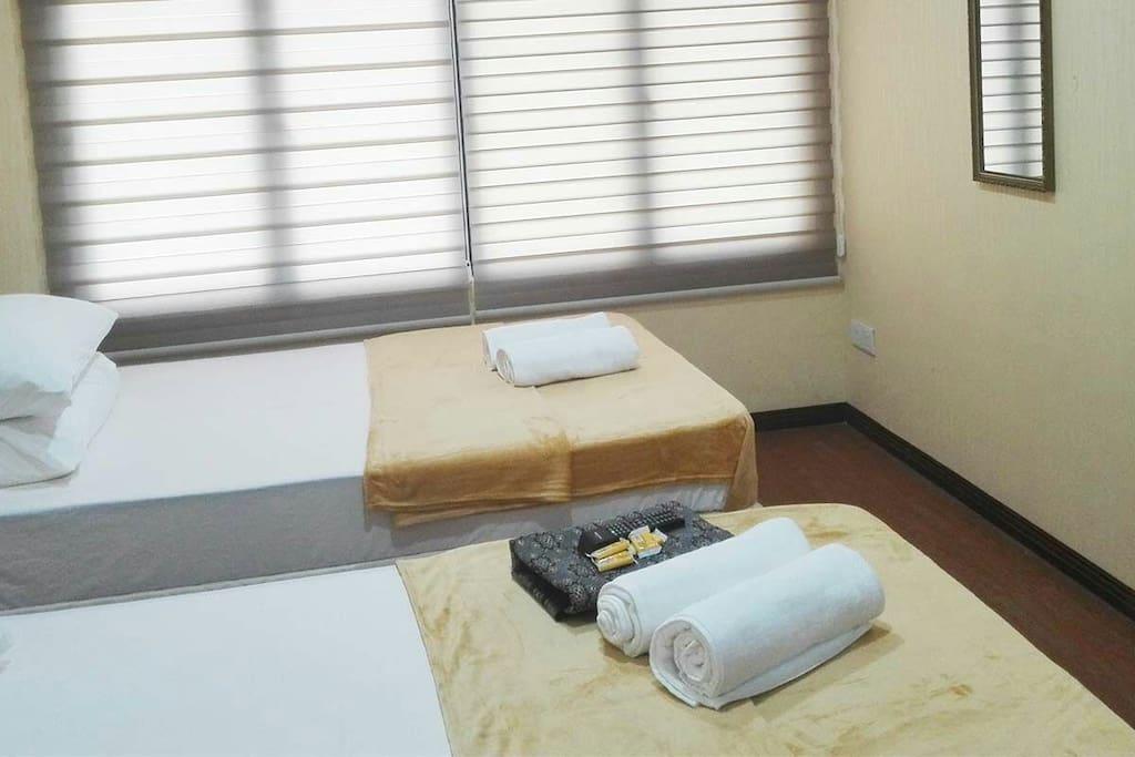 Duplex room bintang square hotel in kota bharu kelantan for J bathroom kota bharu