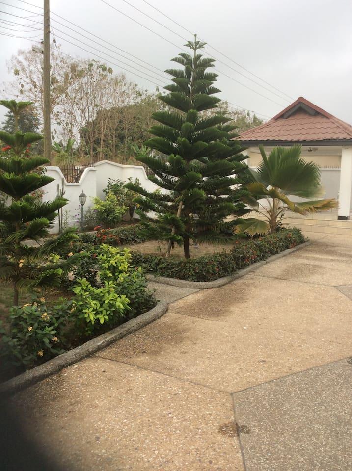 Good outdoor space