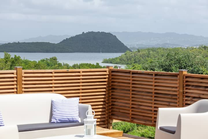 SeaSide: Superbe villa neuve, vue mer piscine