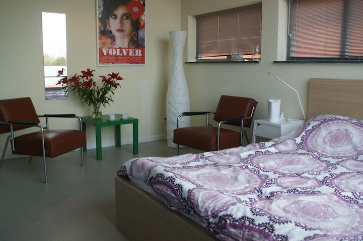 2 Rooms, quietness, 2 bikes, friendly area - Haarlem - Bed & Breakfast