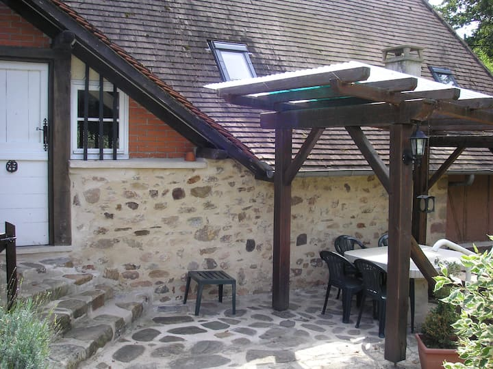 Converted Granary apartment at Moulin d'Arnac