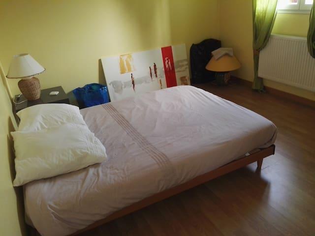2 chambres individuelles petits dejeuners inclus - Irigny