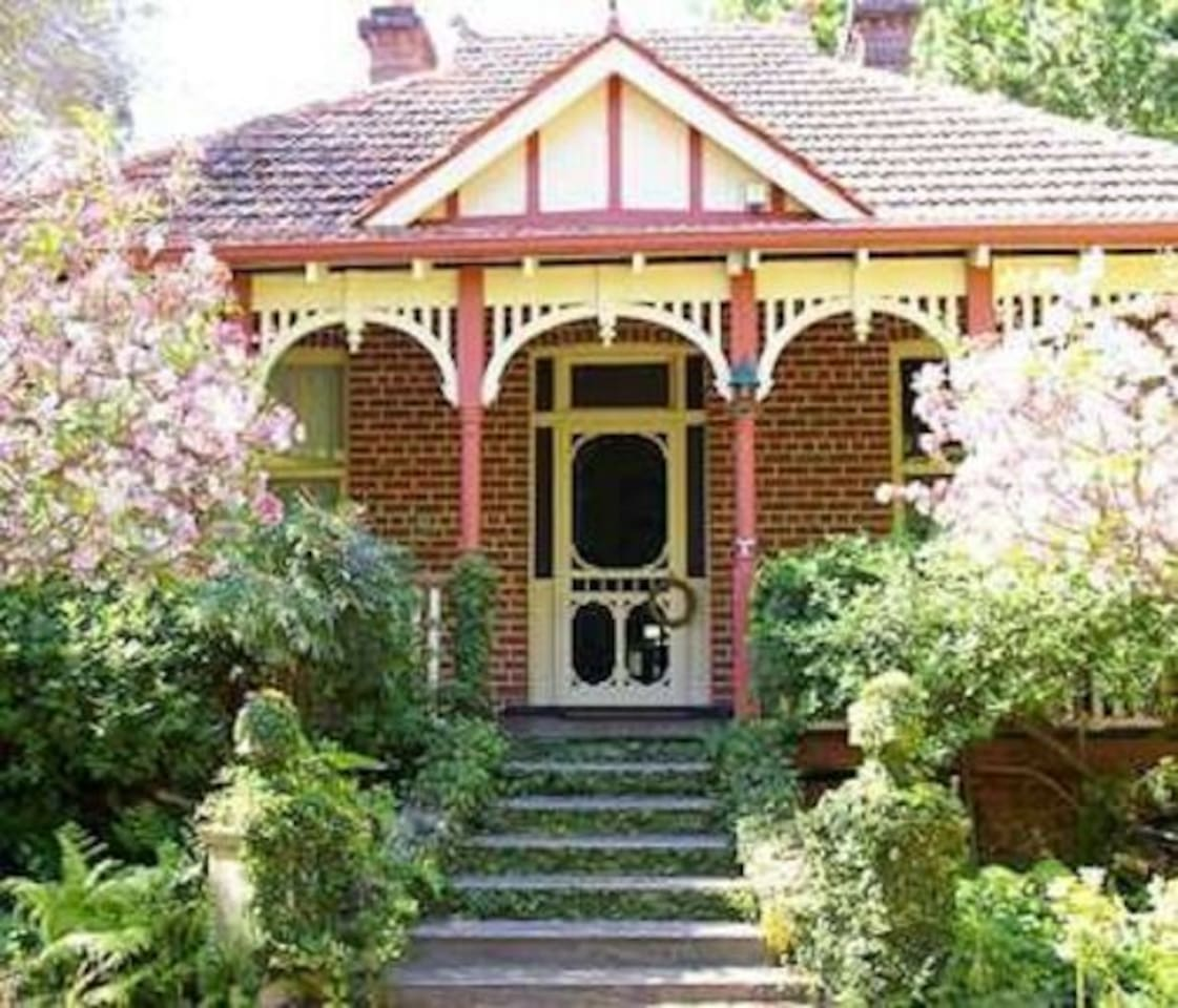 Heritage listed property main house.