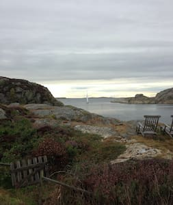Stunning views, own dock and boat - Grundsund - Hus