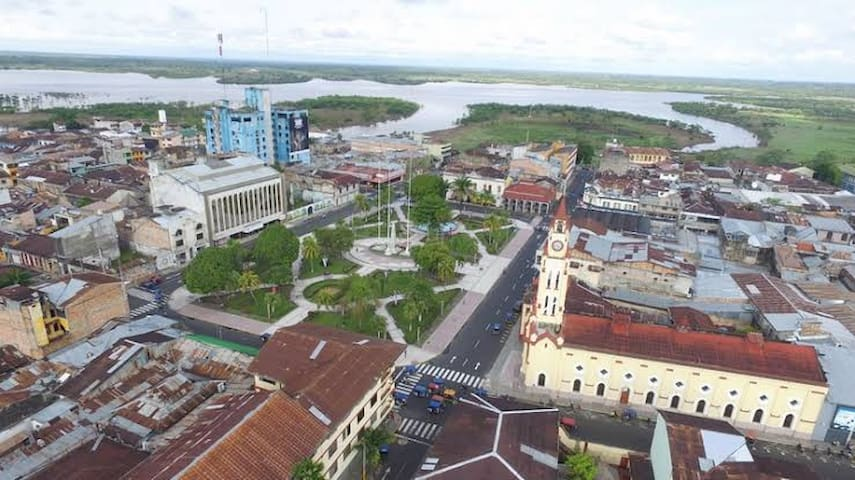 Welcoming place of Iquitos