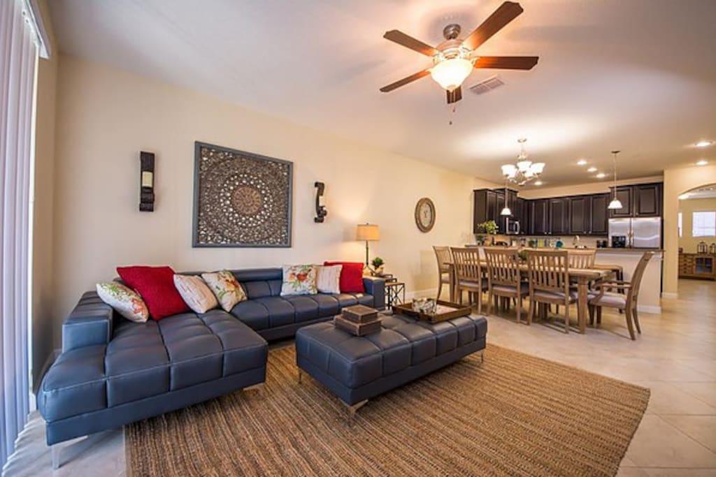 Living Room - Sala de Estar integrada