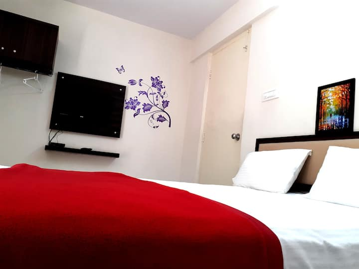 Studio rooms-Wifi-Balcony-Amenities-Bangalore