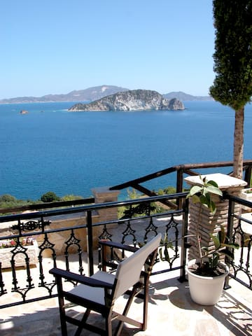 THE TWIN BEACH VILLAS (4 APTS X 6 PERSONS) UNIT 3 - Zakinthos - Osakehuoneisto