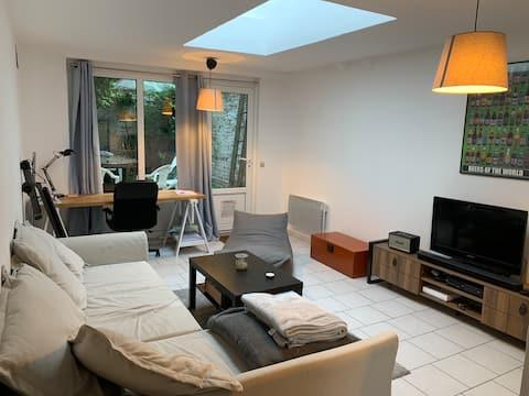 Apartamento en Lille con patio privado al aire libre