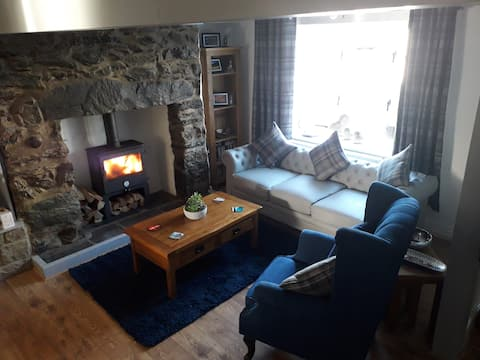 Przytulna walijska chata nad morzem  6 miejsc noclegowych