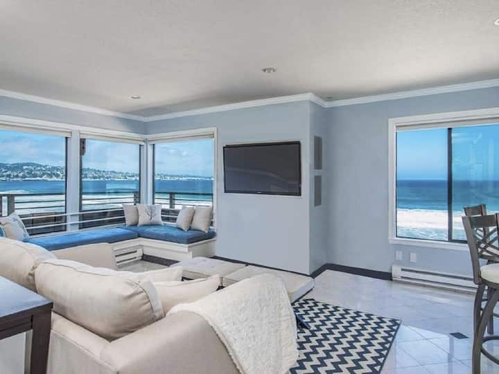 Ocean Front Jewel with Breathtaking Sweeping View!