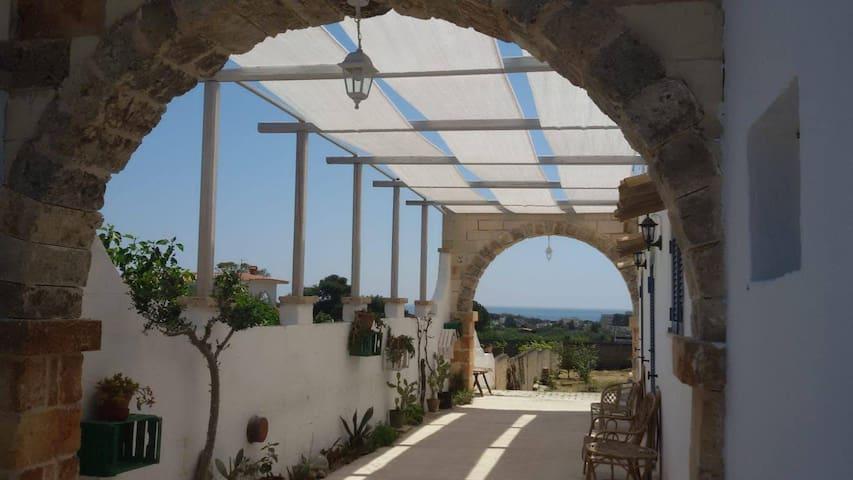"""Terrazzo Mediterraneo - """"Stanza Mare"""""""
