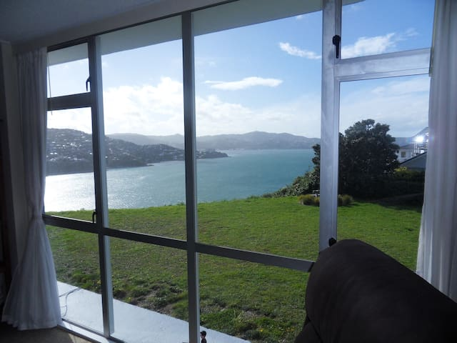 Million Dollar Views From Cozy Appartment - Wellington - Byt