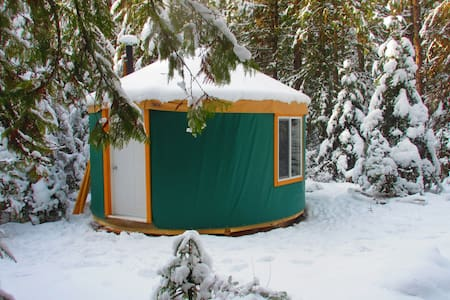 Forest Yurt; classic nomad home! - Nelson