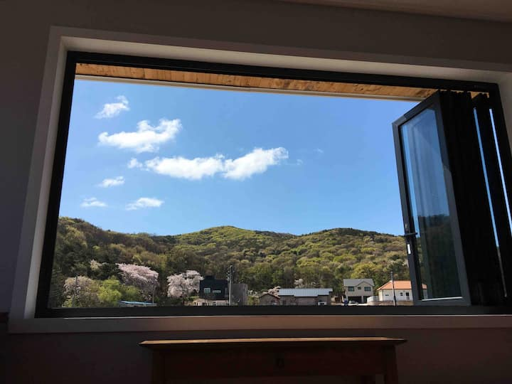 Healing House mountain view,quiet garden,BBQ,2층전체