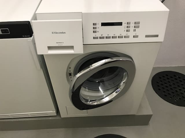 Washer and Dryer in the building