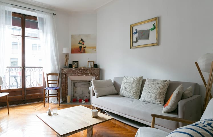 Lovely & Cosy appartment- 2 people - Genève - Apartment