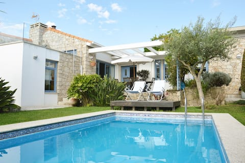 Our HOMEinLAND of Terroso l Pool, Grill & Seaview