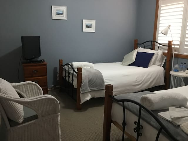 2 king size single beds