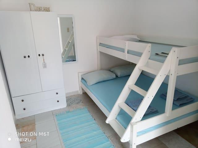 Santorini's simple living for 3