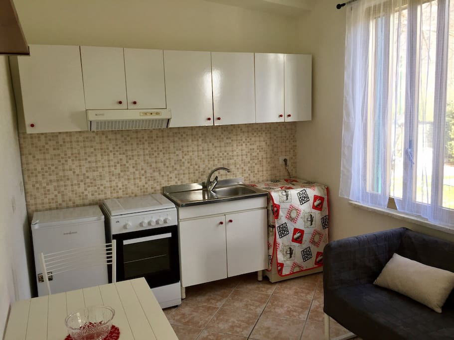 Kitchen and living room!!