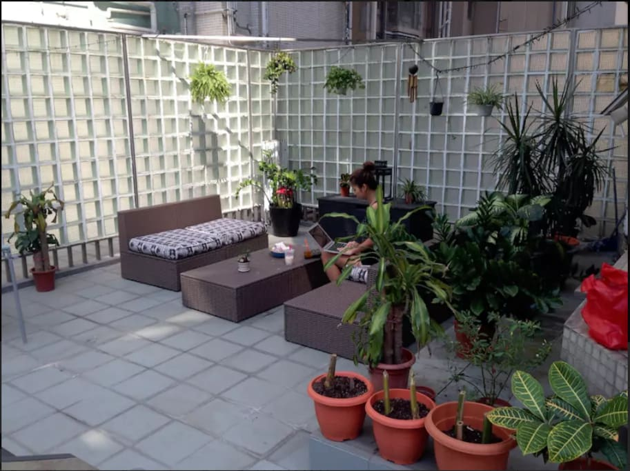 Our precious little private garden