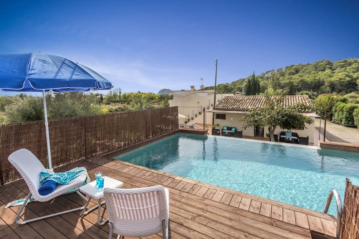 Hilarious Villa Rafaler with Private Pool and Waterfall