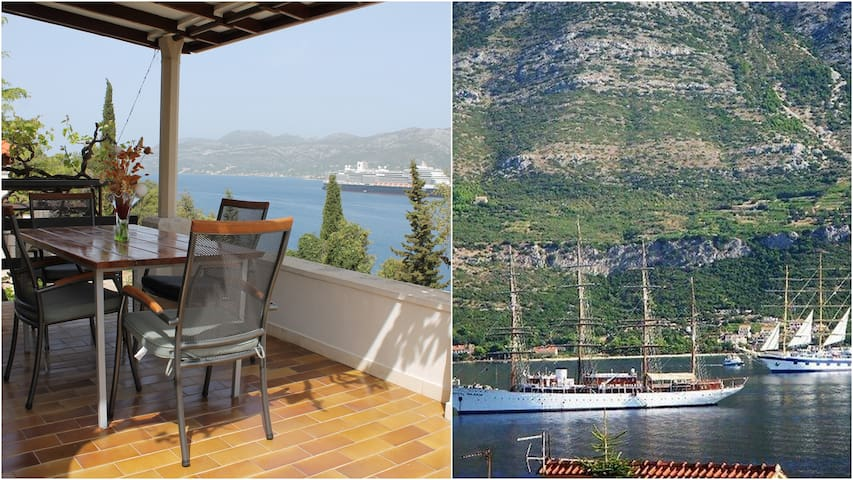 Charming apartment for two (Seaview&3min to beach)
