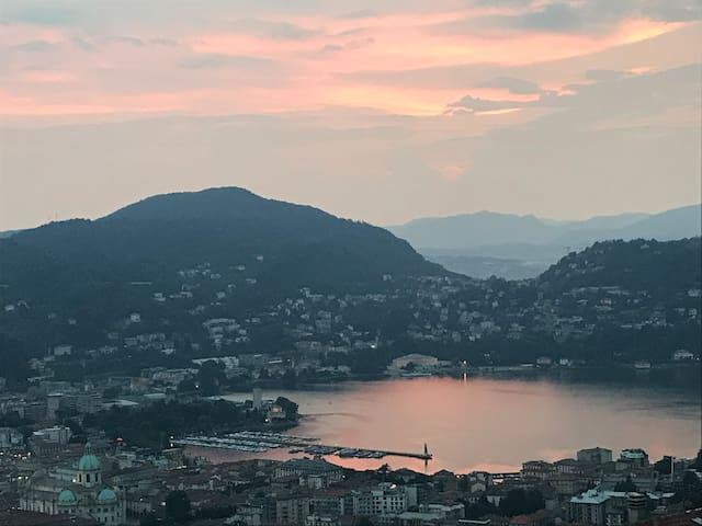 SINGLE ROOM - Como, vista lago